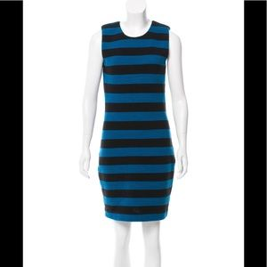 Diane von Furstenberg Rigmora Dress Sz 8 Ribbed
